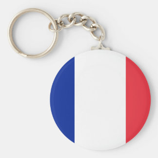 Lowen kostar! Guadeloupe flagga Rund Nyckelring