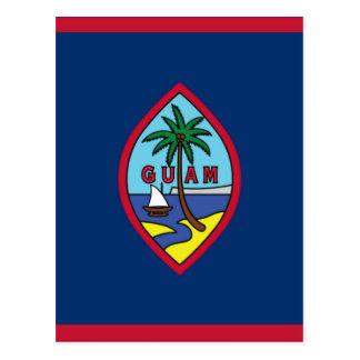 Lowen kostar! Guam flagga Vykort