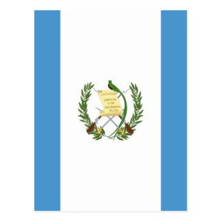 Lowen kostar! Guatemala flagga Vykort