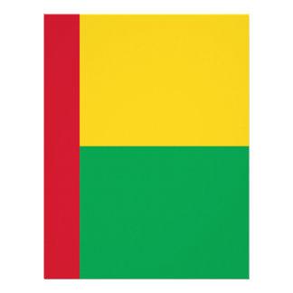 Lowen kostar! Guinea-Bissau flagga Brevhuvud