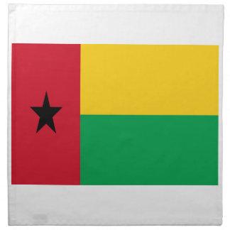 Lowen kostar! Guinea-Bissau flagga Tygservett