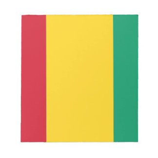 Lowen kostar! Guinea flagga Anteckningsblock