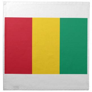 Lowen kostar! Guinea flagga Tygservett