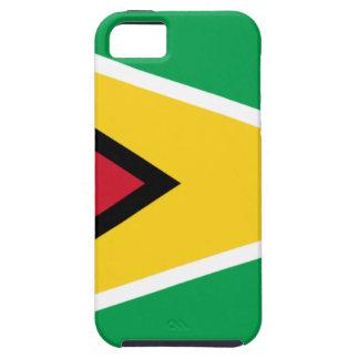 Lowen kostar! Guyana flagga iPhone 5 Fodral