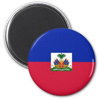 Lowen kostar! Haiti flagga Magnet