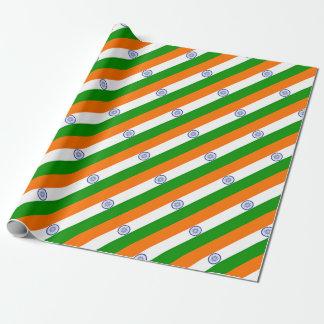 Lowen kostar! Indien flagga Presentpapper