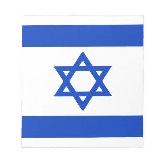 Lowen kostar! Israel flagga Anteckningsblock
