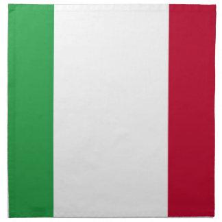 Lowen kostar! Italienflagga Tygservett