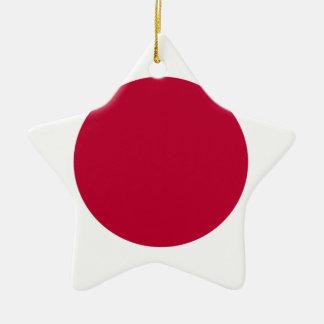 Lowen kostar! Japan flagga Julgransprydnad Keramik