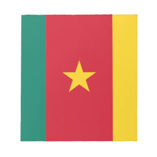 Lowen kostar! Kamerunflagga Anteckningsblock