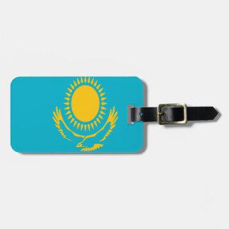 Lowen kostar! Kasakhstan flagga Bagagebricka