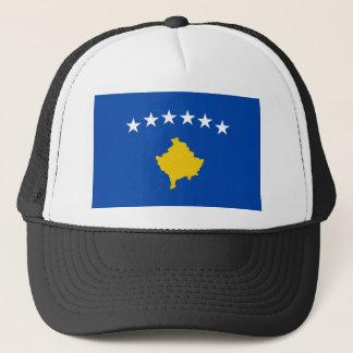 Lowen kostar! Kosovo flagga Truckerkeps