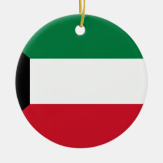 Lowen kostar! Kuwait flagga Julgransprydnad Keramik