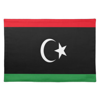 Lowen kostar! Libyen flagga Bordstablett