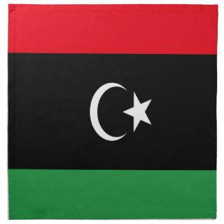Lowen kostar! Libyen flagga Tygservett