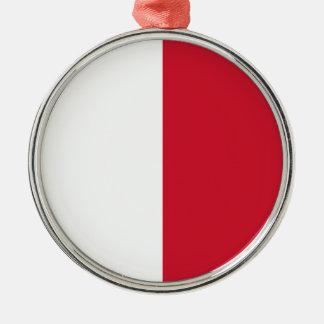Lowen kostar! Malta flagga Julgransprydnad Metall