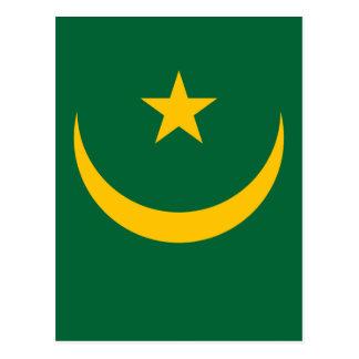 Lowen kostar! Mauretanien flagga Vykort