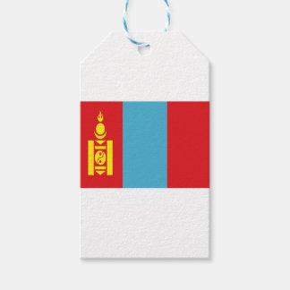 Lowen kostar! Mongoliet flagga Presentetikett