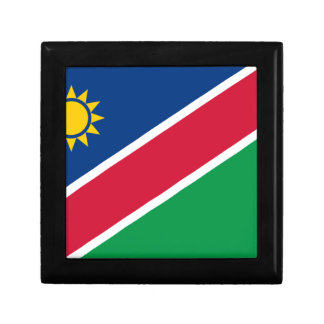 Lowen kostar! Namibia flagga Smyckeskrin