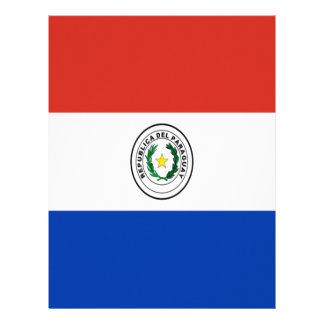 Lowen kostar! Paraguay flagga Brevhuvud