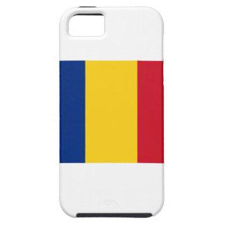Lowen kostar! Rumänienflagga iPhone 5 Case-Mate Fodral