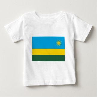Lowen kostar! Rwanda flagga T Shirts