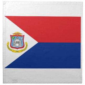 Lowen kostar! Sint Maarten flagga Tygservett