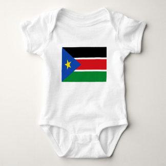 Lowen kostar! Södra Sudan flagga T Shirt