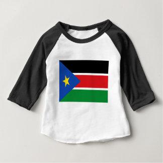 Lowen kostar! Södra Sudan flagga T-shirt