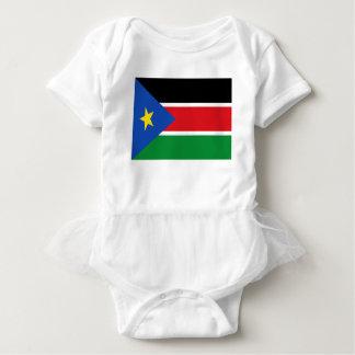 Lowen kostar! Södra Sudan flagga T-shirts