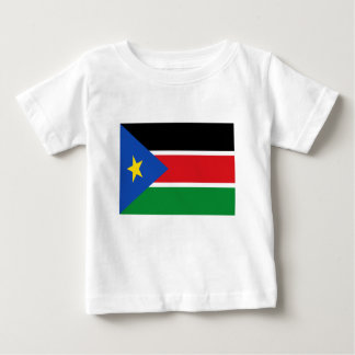 Lowen kostar! Södra Sudan flagga Tröja