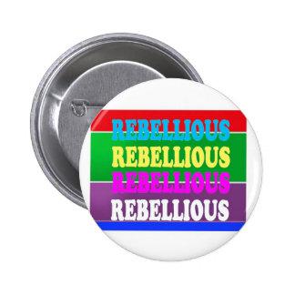 LOWPRICE GIF för rebelliskt uttryck för revolt Standard Knapp Rund 5.7 Cm