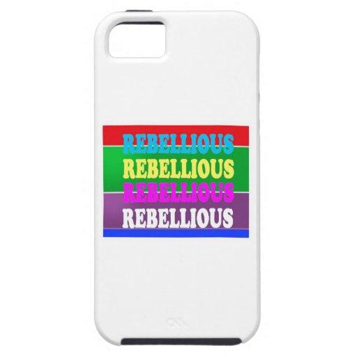 LOWPRICE GIF för rebelliskt uttryck för revolt UPP iPhone 5 Skal