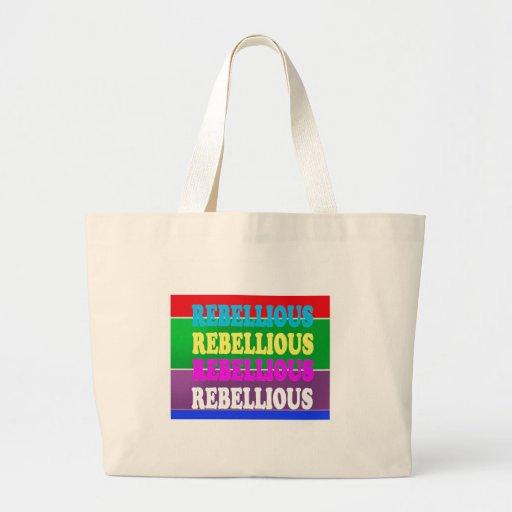 LOWPRICE GIF för rebelliskt uttryck för revolt UPP Tote Bag