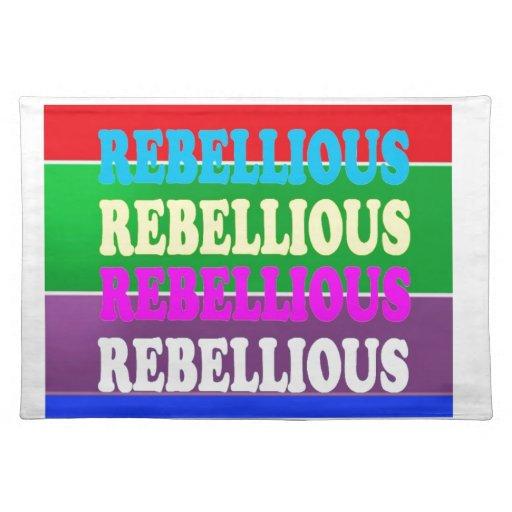 LOWPRICE GIF för rebelliskt uttryck för revolt UPP Bordtabletter