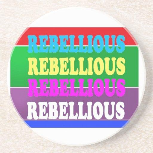 LOWPRICE GIF för rebelliskt uttryck för revolt UPP Dryck Underlägg