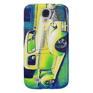 Lowridervintageautomatisk Galaxy S4 Fodral
