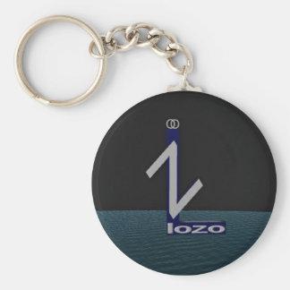 Lozo Keychain Rund Nyckelring