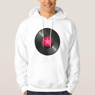 Lp-rekord Sweatshirt Med Luva