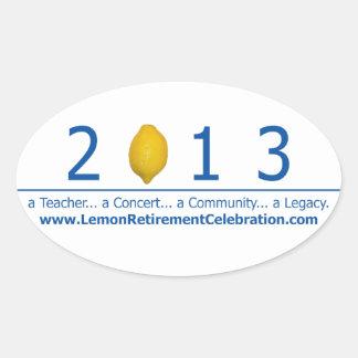 LRC-fönsterklistermärke 2013 Ovalt Klistermärke