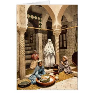 Luce Ben Aben, Moorishkvinnor som förbereder Hälsningskort