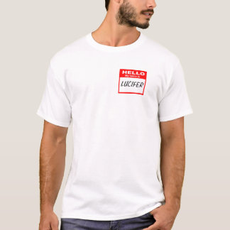 Lucifer Nametagskjorta Tshirts