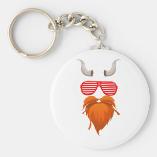 LuckyStones| enorm keychain, gullig tecknad Rund Nyckelring