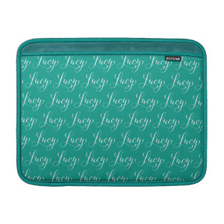 Lucy - modern Calligraphynamndesign MacBook Sleeve