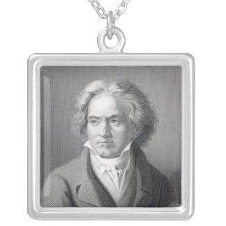 Ludwig Van Beethoven Silverpläterat Halsband