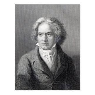 Ludwig Van Beethoven Vykort