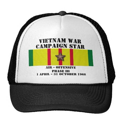 Luft - offensiven arrangerar gradvis kampanj III Baseball Hat