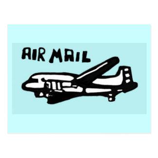Luft postar vykort