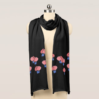 Luft sväller den Jersey scarfen Sjal