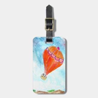 Luftballong Bag Tag För Väskor
